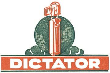 DICTATOR Deutschland Logo ab 1932