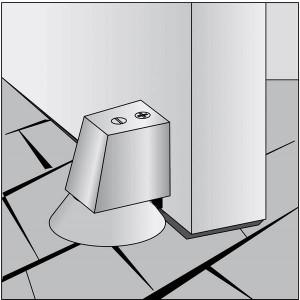 Installation Door Stop and Buffer