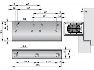 Cornière montage VS2000 - 205220