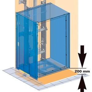 Aufzug Sonderlösung Homelift
