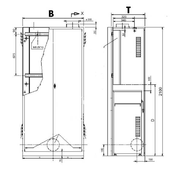 Häufig Aufzug geringe Maße Schachtgrube Schachtkopf EN 81-2 KR05