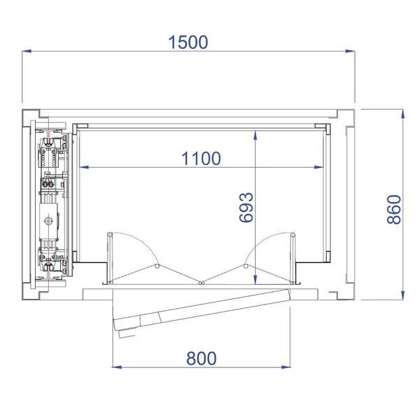 Ascenseur de maison individuelle quelles dimensions pour for Ascenseur hydraulique pour maison individuelle