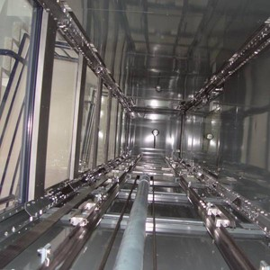 Lift shaft construction DICTATOR lift shaft system