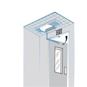 DICTAMAT-304AZ Lift door operator open heavy hinged landing doors