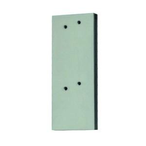 Accessoires pour monter des amortisseurs de porte sur des portes vitrées