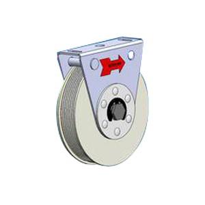 Schiebetür Federseilrolle Durchmesser 118