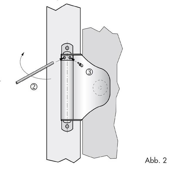 Muelle para puertas piccolo muelle de cierre compacto - Muelle para puertas ...