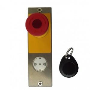 Terminal mit integrierter Zugangskontrolle - per Transponderchip