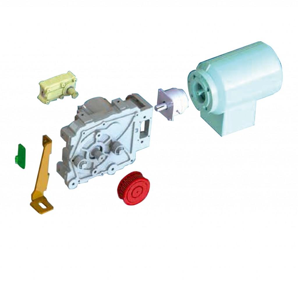 MultiMove Modulares Antriebssystem für Schiebetüren und Schiebetore bis 2000 kg