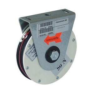 Federseilrollen für Brandschutzantriebe