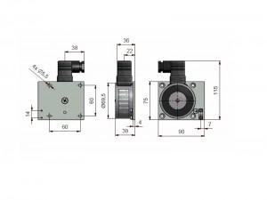 060514 Elektro Haftmagnet EX Bereich Maße1