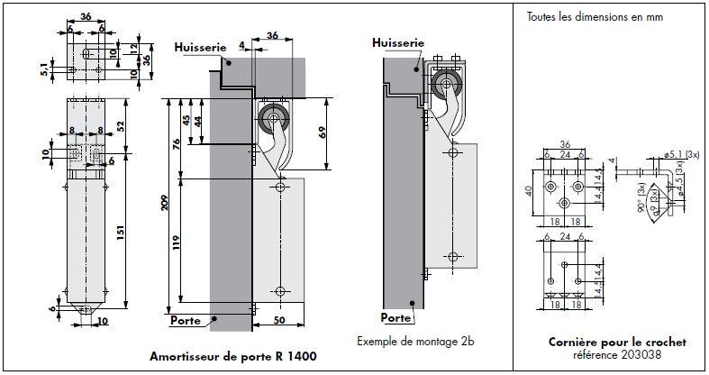 Amortisseur-R1400-Dimensions