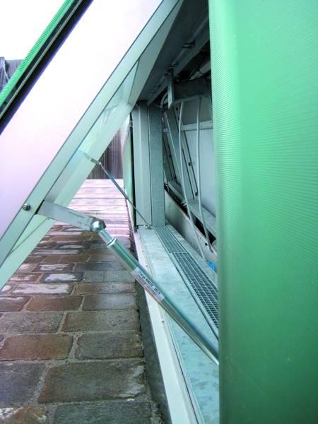 Gasfedern Fenster