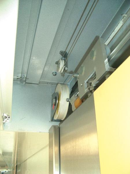 Schiebetüren ohne Strom automatisch schließen Schiebetürschließer Schiebetüren bleiben oft offen stehen.
