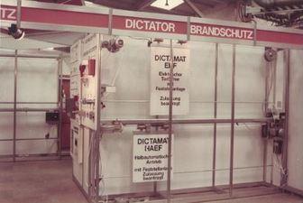 Einführung der Brandschutz-Antriebssysteme von DICTATOR