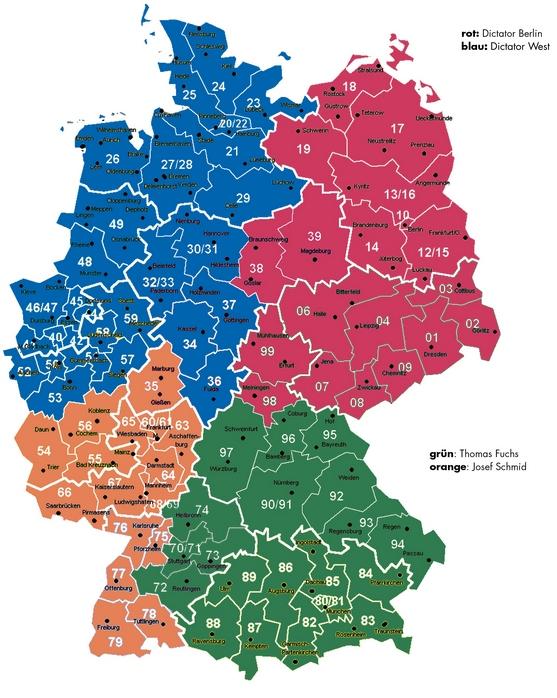 DICTATOR Kontakt Deutschland