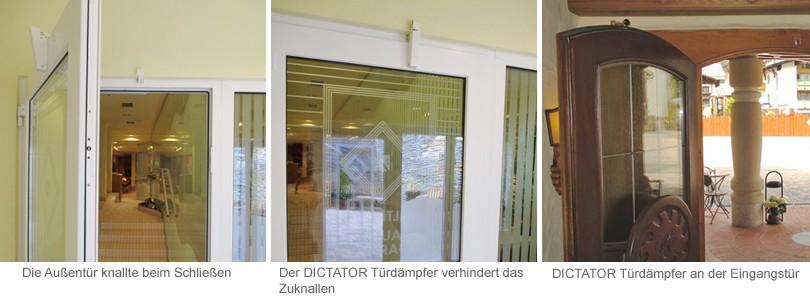 Seit an der Tür der DICTATOR Türdämpfer V1600 montiert wurde, ist auch im Ruheraum Entspannung pur angesagt.
