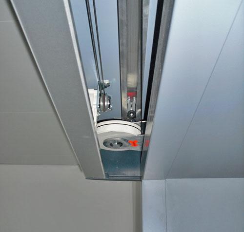 Sliding door closer adjustment closing force closing speed