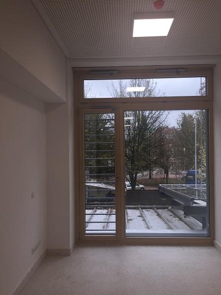 Fenstertür mit Öffnungsbegrenzer