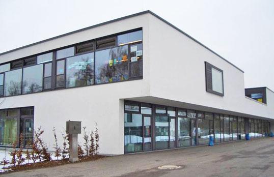 Grundschule Regensburg Türöffnungsbegrenzer Schultüren