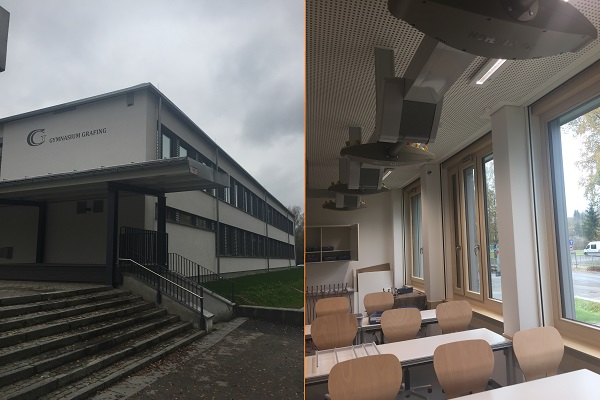 Gymnasium Grafing - Altbau Renoviert