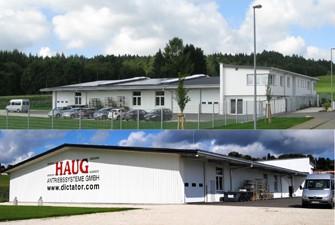 Neue Fertigungsgebäude HAUG