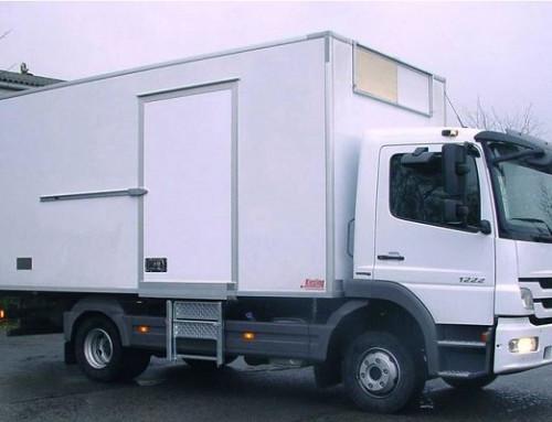 Pendeltürbänder für LKW-Kühlaufbauten