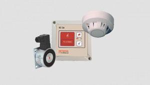 Feststellanlagen und Komponenten für Feuerschutzabschlüsse
