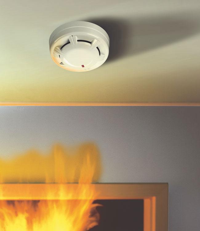 Wärmemelder Feststellanlage Rauchmelder Brandschutz