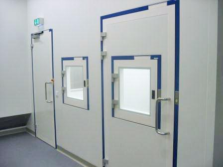 Système de salles blanches à une entreprise pharmaceutique