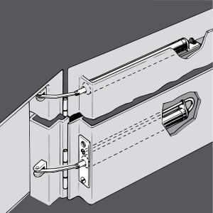 Rohrtürschließer Aufzugtüren