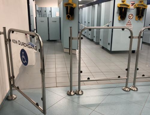 Rohrtürschließer unverzichtbar als Türschließer für Rundrohr-Durchgangspforten