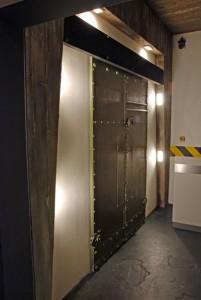 Schiebetür öffnet Türen automatisch, automatisches Öffnen