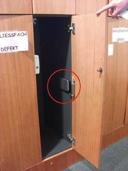 Muelles de puerta taquillas de vestuario funcionandas en - Muelles de puertas ...
