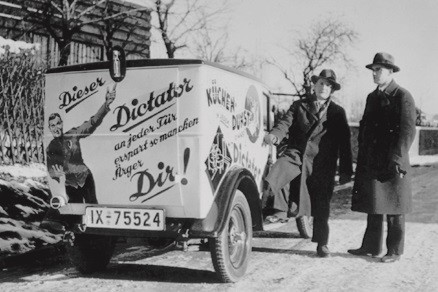 The first DICTATOR company car