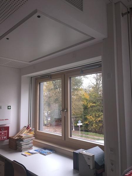 Öffnungsbegrenzer TBR an zweiflügelige Fenster