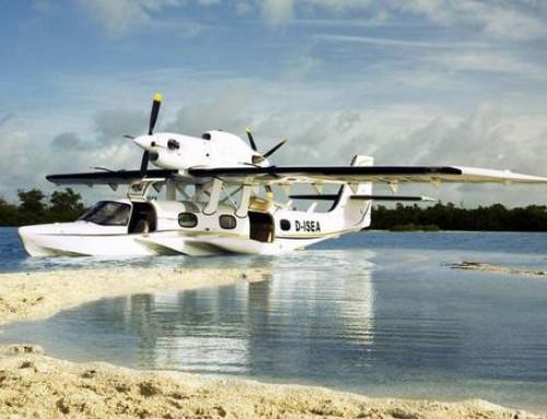 Gasfedern an Wasserflugzeugen der Firma Dornier