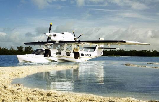 Gasfedern öffnen Wasserflugzeugtüren