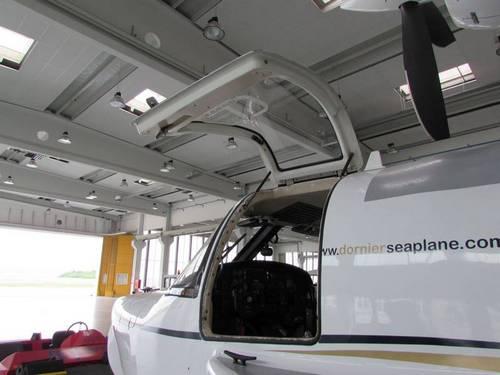 Die Flugzeugtüren werden mit DICTATOR Gasfedern offen gehalten