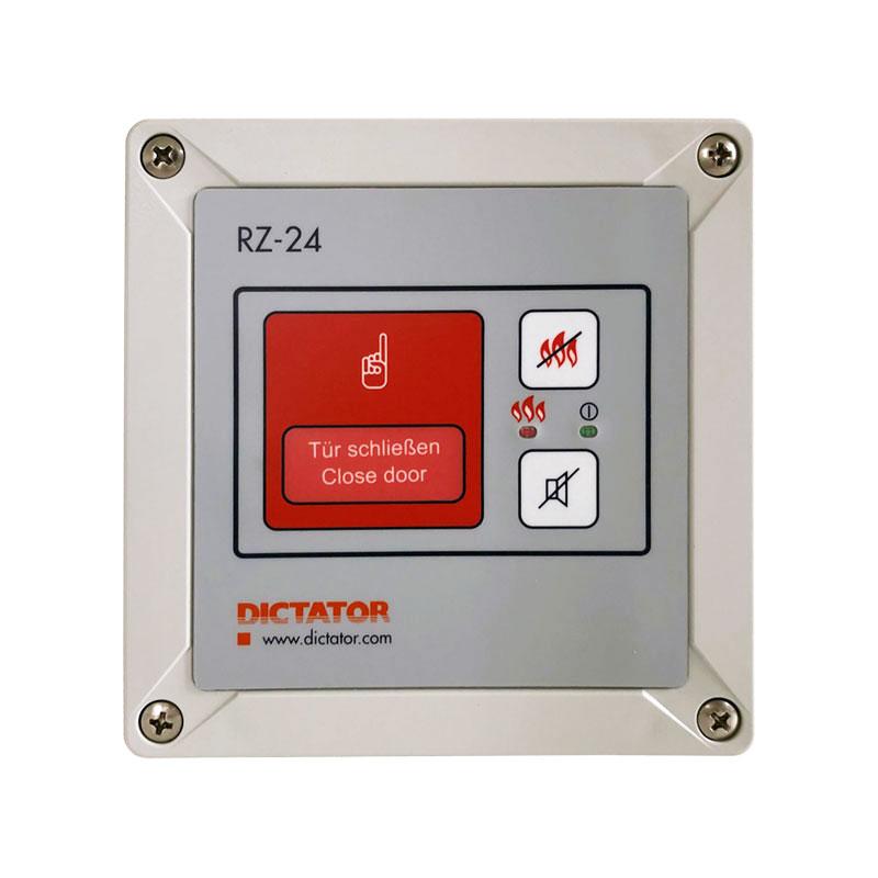 Brandschutz Zentrale RZ-24 Auswertung Brandmelder EX Feststellanlagen